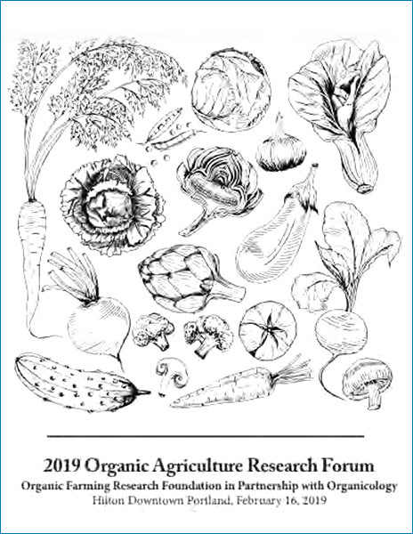 Organic Agriculture Research Forum 2019
