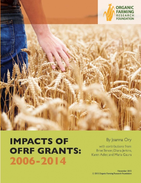 Impact of OFRF Grants Report: 2006-2014