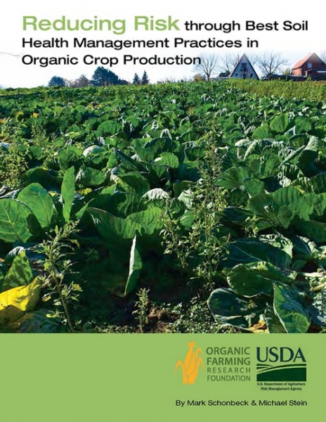 Reducing Risk through Soil Management report cover