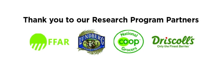 Graphic of OFRF research partner logos