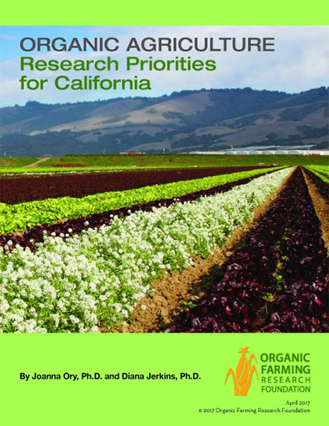 Organic Ag Research Priorities for California
