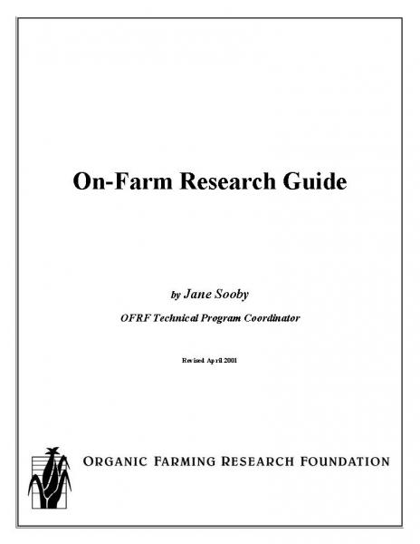On-Farm Research Guide Report
