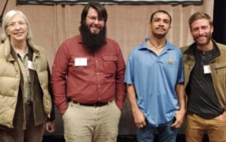 Picture from left to right: Diana Jerkins, Scott Snodgrass, Justin Duncan, Tommy Garcia-Prats